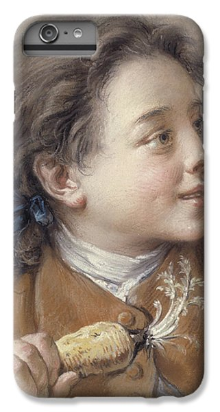 Boy With A Carrot, 1738 IPhone 6s Plus Case by Francois Boucher