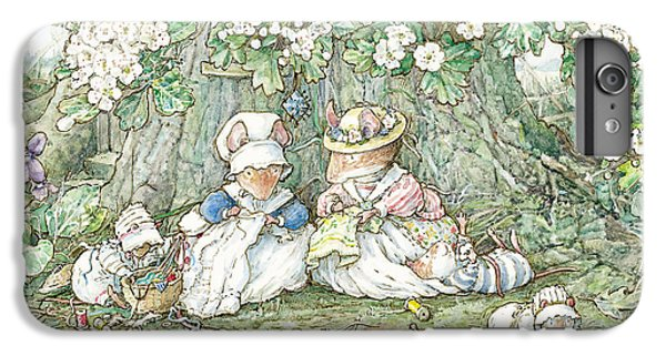 Brambly Hedge - Hawthorn Blossom And Babies IPhone 6s Plus Case