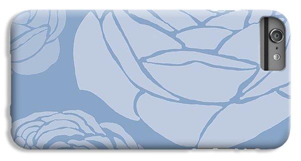 Floral iPhone 6s Plus Case - Brandon Rose by Sarah Hough