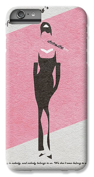 Audrey Hepburn iPhone 6s Plus Case - Breakfast At Tiffany's by Inspirowl Design