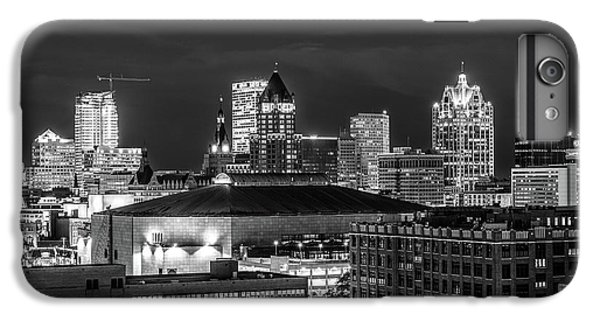 IPhone 6s Plus Case featuring the photograph Brew City At Night by Randy Scherkenbach