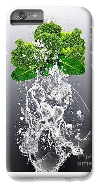 Broccoli Splash IPhone 6s Plus Case