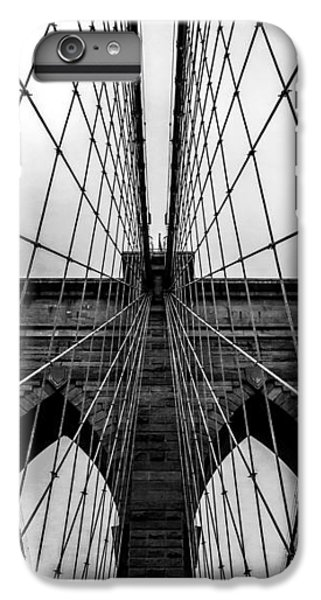 Brooklyn Bridge iPhone 6s Plus Case - Brooklyn's Web by Az Jackson