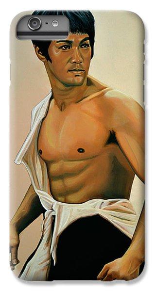 Bruce Lee Painting IPhone 6s Plus Case