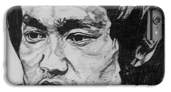 Bruce Lee IPhone 6s Plus Case by Rachel Natalie Rawlins