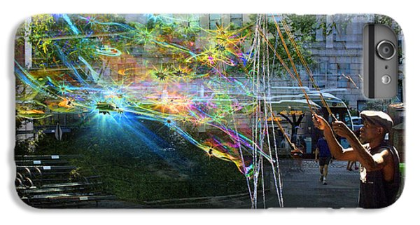 Bubble Maker Collage 1 IPhone 6s Plus Case