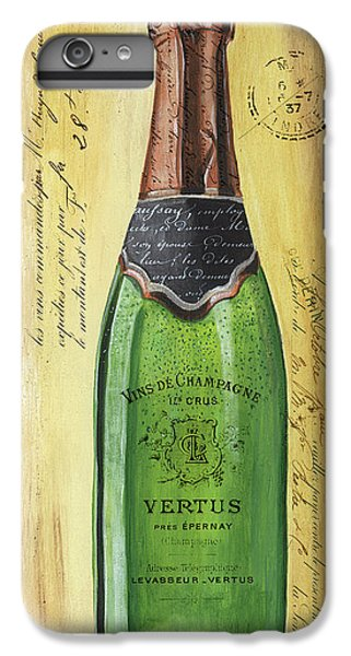 Bar iPhone 6s Plus Case - Bubbly Champagne 2 by Debbie DeWitt