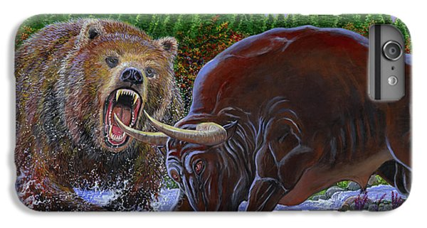 Bull And Bear IPhone 6s Plus Case