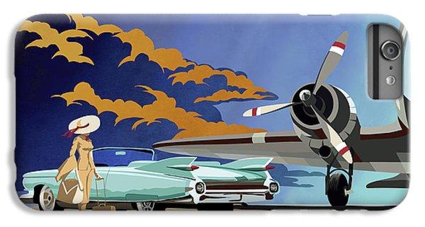 Car iPhone 6s Plus Case - Cadillac Eldorado 1959 by Sassan Filsoof