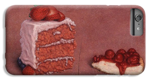 Strawberry iPhone 6s Plus Case - Cakefrontation by James W Johnson