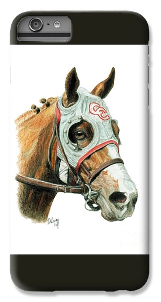 Horse iPhone 6s Plus Case - California Chrome  2016 by Pat DeLong