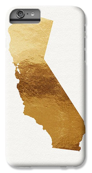 California Gold- Art By Linda Woods IPhone 6s Plus Case by Linda Woods