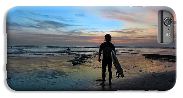 Ocean Sunset iPhone 6s Plus Case - California Surfer by Larry Marshall