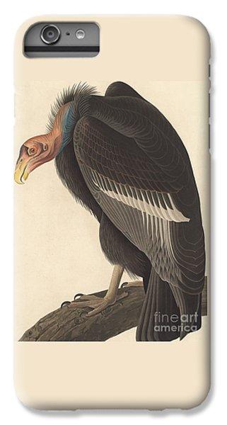 Vulture iPhone 6s Plus Case - Californian Vulture by John James Audubon
