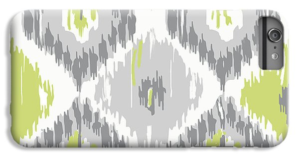 Calyx Ikat Pattern IPhone 6s Plus Case by Mindy Sommers