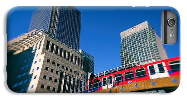 Canary iPhone 6s Plus Case - Canary Wharf Commute by Jasna Buncic