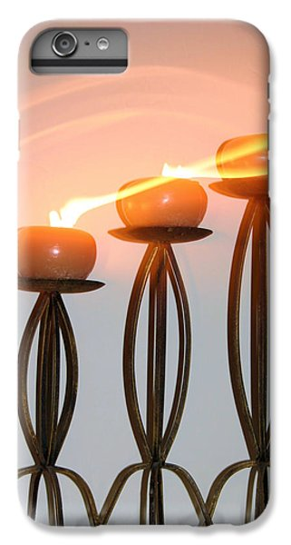 Candles In The Wind IPhone 6s Plus Case by Kristin Elmquist