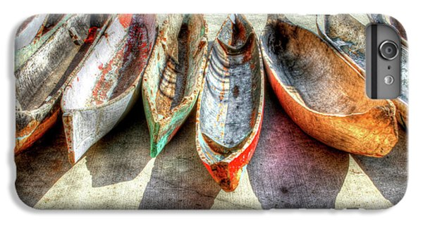 Boats iPhone 6s Plus Case - Canoes by Debra and Dave Vanderlaan
