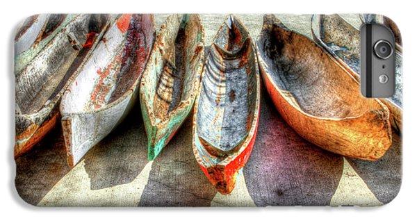 Boat iPhone 6s Plus Case - Canoes by Debra and Dave Vanderlaan