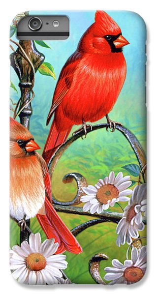 Cardinal Day 3 IPhone 6s Plus Case by JQ Licensing