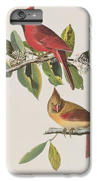 Cardinal Grosbeak IPhone 6s Plus Case by John James Audubon