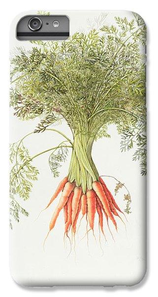 Carrots IPhone 6s Plus Case by Margaret Ann Eden