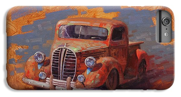 Truck iPhone 6s Plus Case - Cascading Color by Cody DeLong
