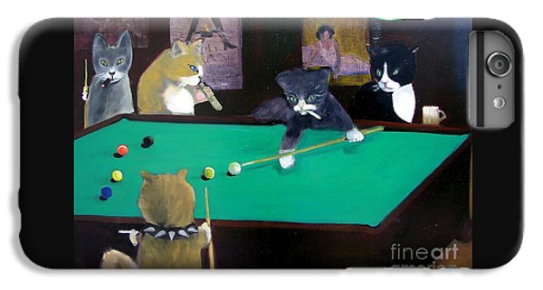 Cats Playing Pool IPhone 6s Plus Case