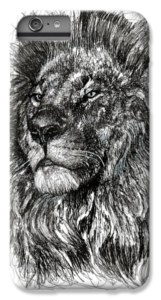 Cecil The Lion IPhone 6s Plus Case by Michael Volpicelli