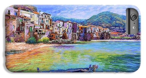 Town iPhone 6s Plus Case - Cefalu Sicily Italy by Jane Small