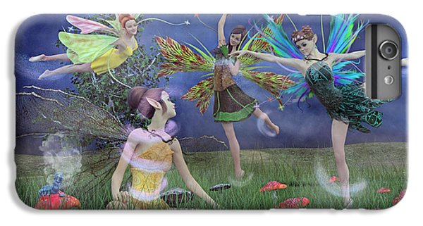 Fairy Dust iPhone 6s Plus Case - Celebration Of Night Alice And Oz by Betsy Knapp