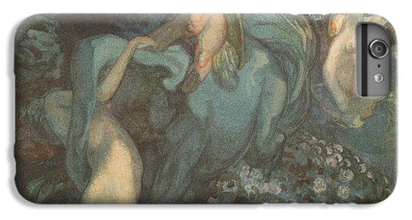 Centaur Nymphs And Cupid IPhone 6s Plus Case by Franz von Bayros