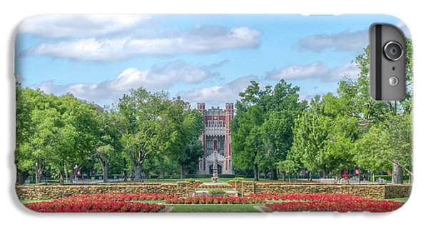 Oklahoma University iPhone 6s Plus Case - Central Grounds And Gardens At University Of Oklahoma by Ken Wolter