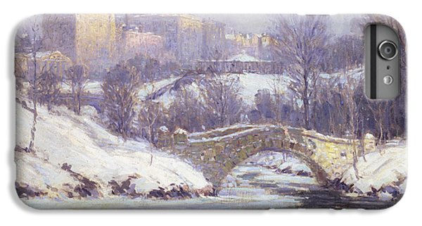 Central Park IPhone 6s Plus Case by Colin Campbell Cooper