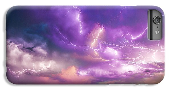 Nebraskasc iPhone 6s Plus Case - Chasing Nebraska Lightning 056 by NebraskaSC