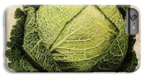 Cabbage iPhone 6s Plus Case - Checcavolo by Danka Weitzen