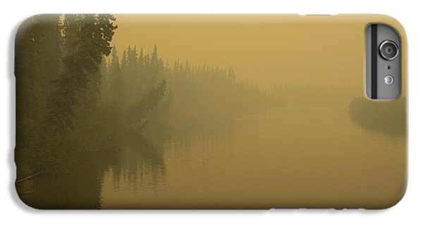 IPhone 6s Plus Case featuring the photograph Chena River by Gary Lengyel