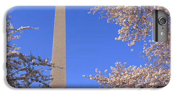 Cherry Blossoms And Washington IPhone 6s Plus Case by Panoramic Images