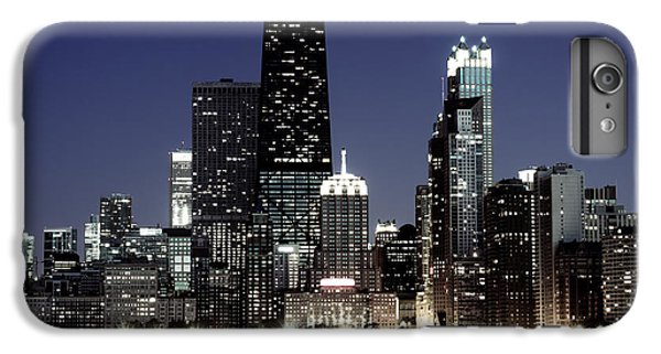 Hancock Building iPhone 6s Plus Case - Chicago At Night High Resolution by Paul Velgos