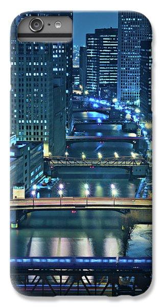 City Scenes iPhone 6s Plus Case - Chicago Bridges by Steve Gadomski