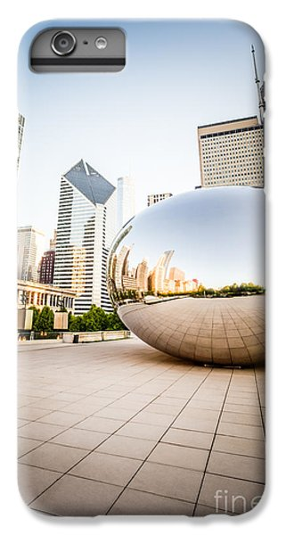 Chicago Gloud Gate And Chicago Skyline Photo IPhone 6s Plus Case by Paul Velgos