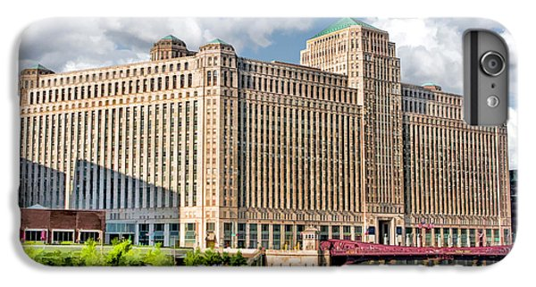 IPhone 6s Plus Case featuring the painting Chicago Merchandise Mart by Christopher Arndt