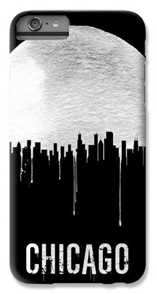 Chicago Skyline Black IPhone 6s Plus Case by Naxart Studio