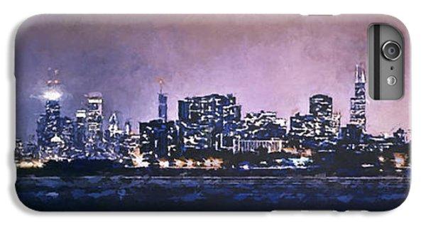 Lake Michigan iPhone 6s Plus Case - Chicago Skyline From Evanston by Scott Norris