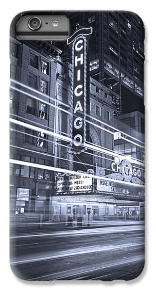 Chicago Theater Marquee B And W IPhone 6s Plus Case by Steve Gadomski