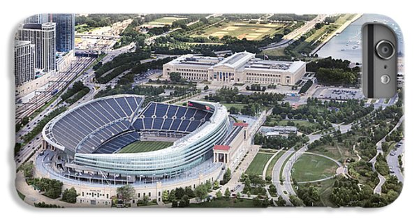 Soldier Field iPhone 6s Plus Case - Chicago's Soldier Field by Adam Romanowicz