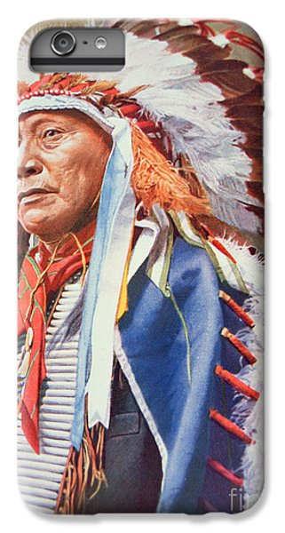 Portraits iPhone 6s Plus Case - Chief Hollow Horn Bear by American School