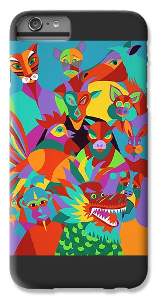 iPhone 6s Plus Case - Chinese New Year by Synthia SAINT JAMES