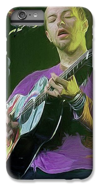 Coldplay iPhone 6s Plus Case - Chris Martin, Coldplay by Mal Bray