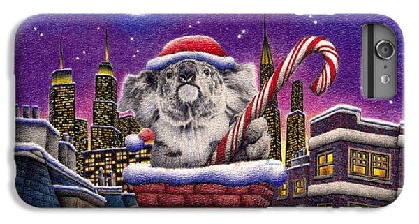 Christmas Koala In Chimney IPhone 6s Plus Case